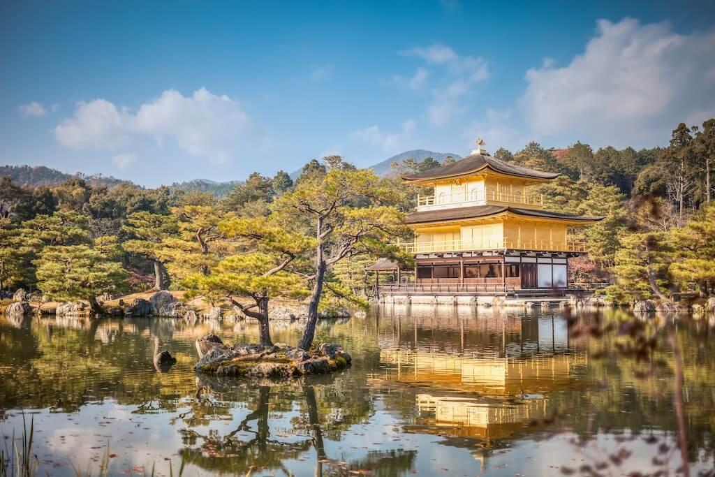Kinkaku Ji Tempel, Gouden Paviljoen Tokyo, Rondreis Japan | Mira Tours – Reisbureau Haacht
