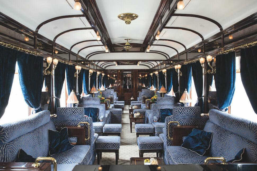 Bar van de Orient Express - Luxe Treinreis Venice Simplon Orient Express van Brussel naar Venetie   Mira Tours – Reisbureau Haacht